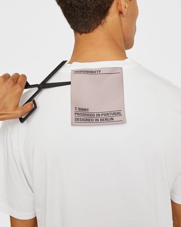 Highsnobiety Staples — T-Shirt White - Image 3