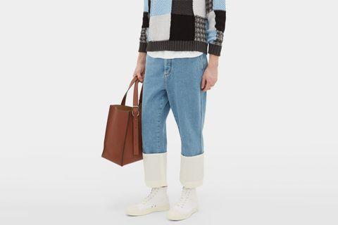 Fisherman Mid-Rise Jeans