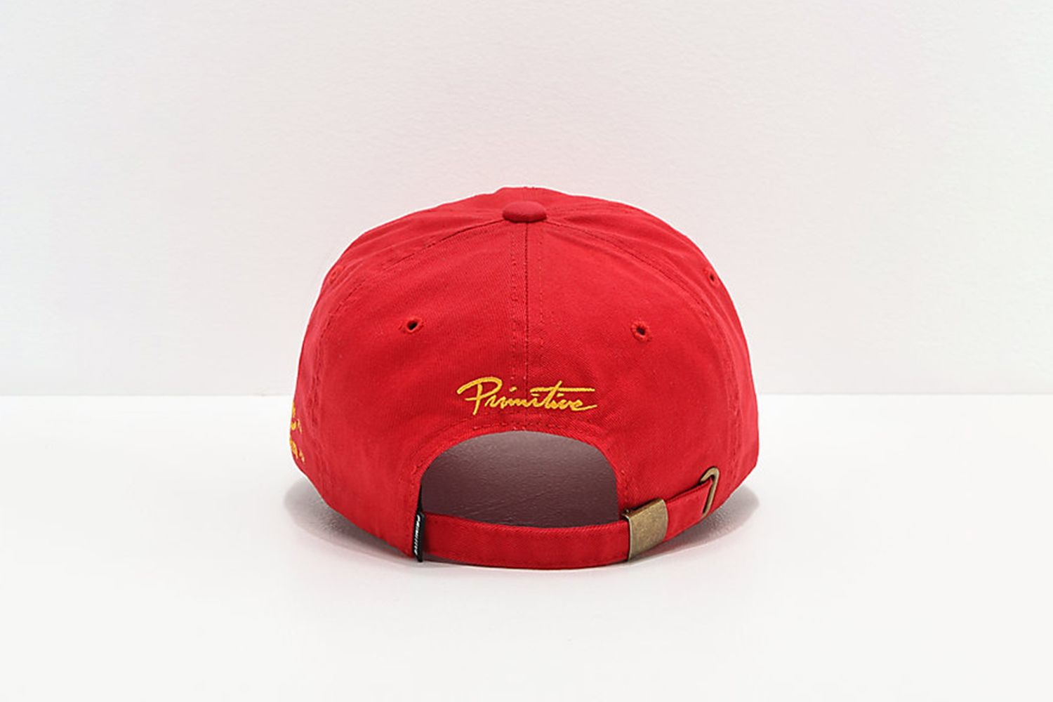 Bottle Red Strapback Hat