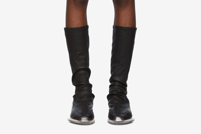 Oblique Stretch Sock Runner Sneakers