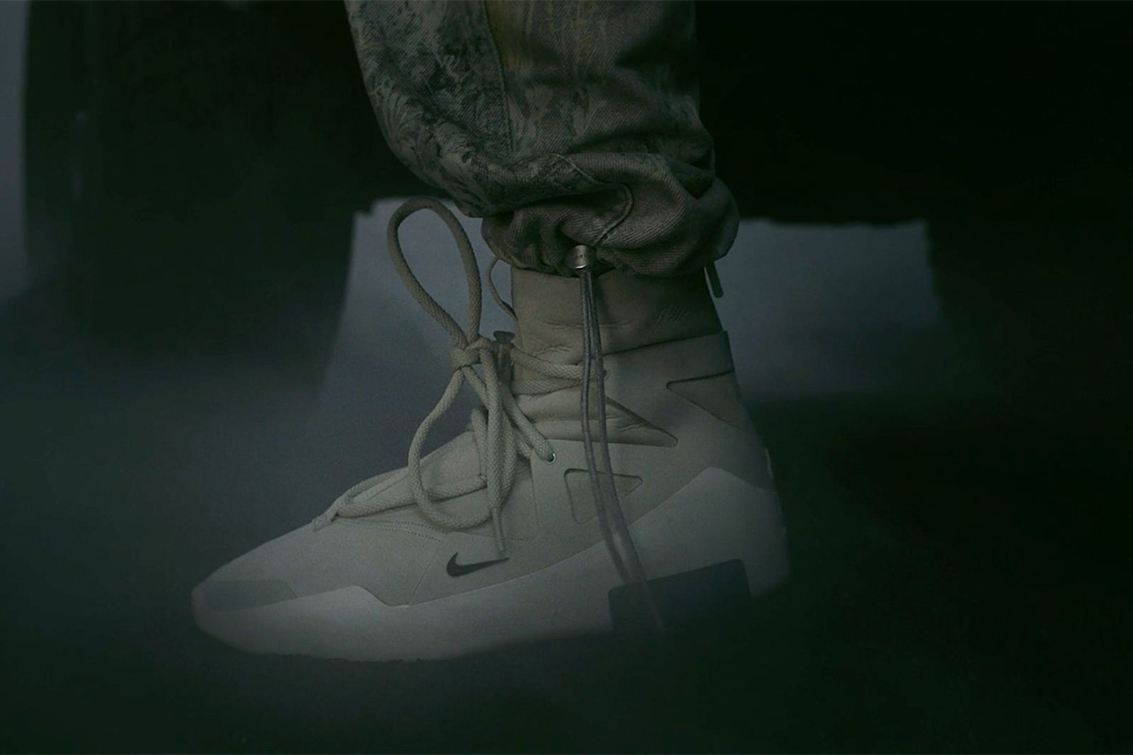 fear of god nike sneaker first look