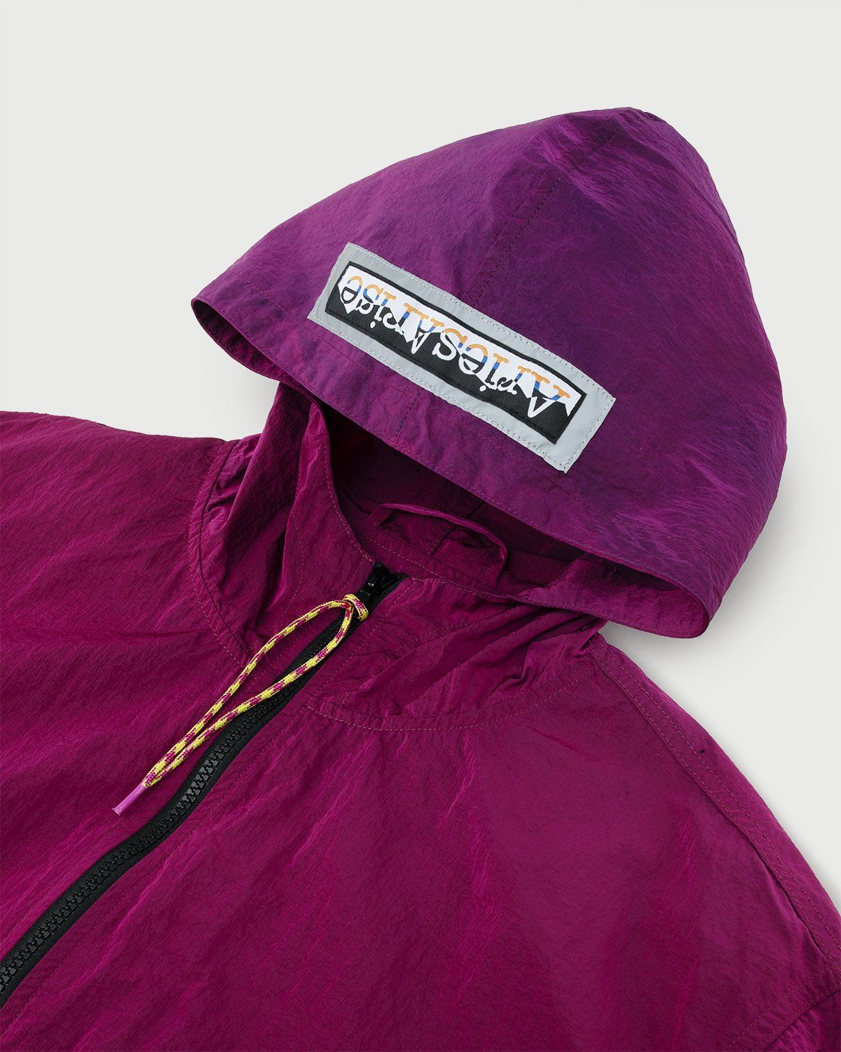 Aries — Ombre Dyed Tech Jacket Fuchsia - Image 2