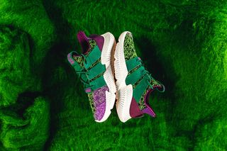 "check out c0862 2572c The  Dragon Ball Z  x adidas Prophere ""Cell"" Drops Today"