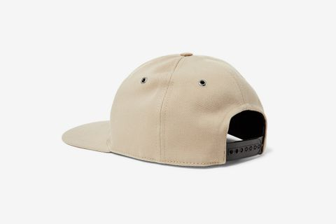 Logo-Appliquéd Cotton-Twill Baseball Cap