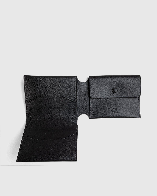 Acne Studios – Trifold Wallet Black - Image 3
