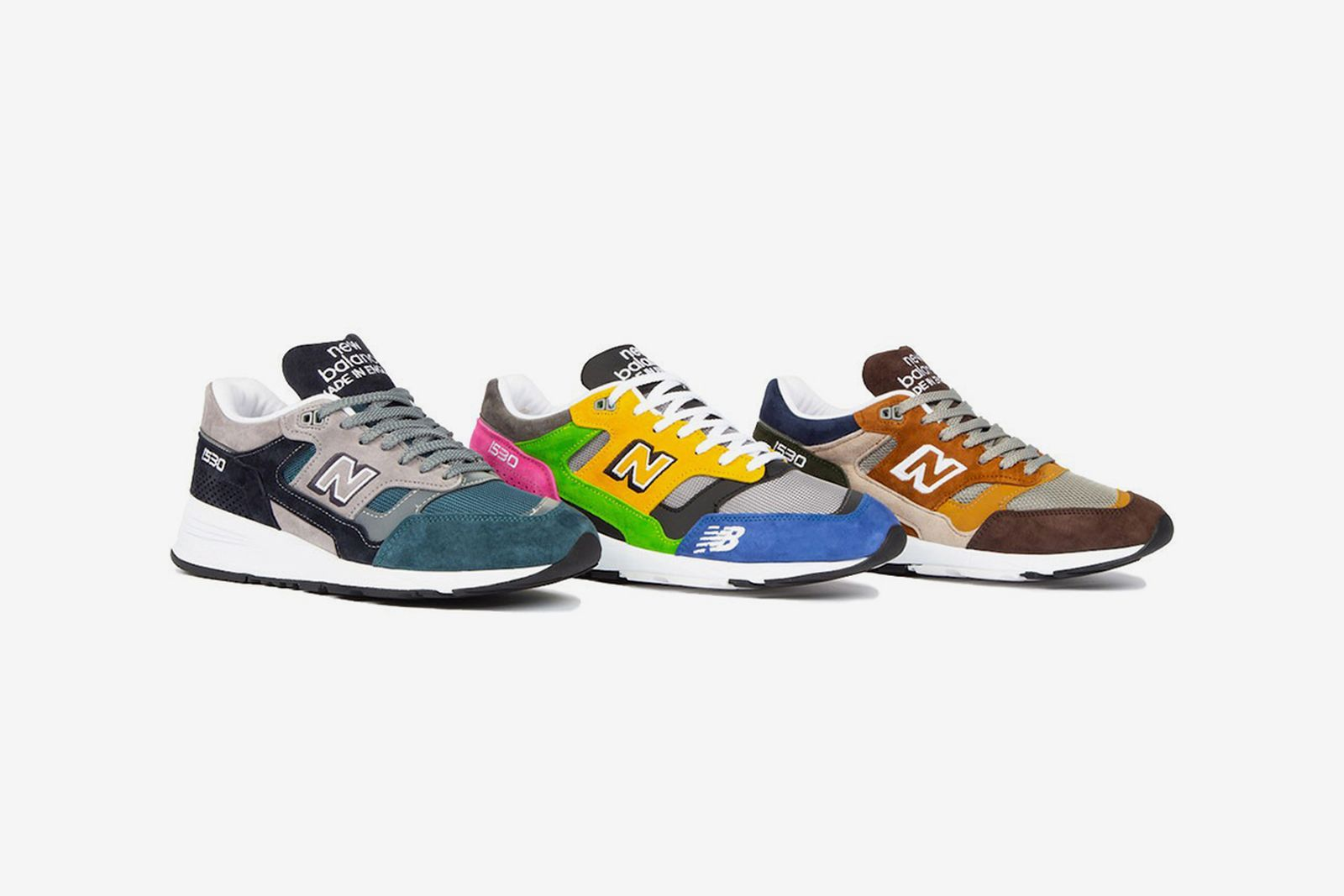 New Balance Is Releasing Colorways of the 1500 & 1530 at Random