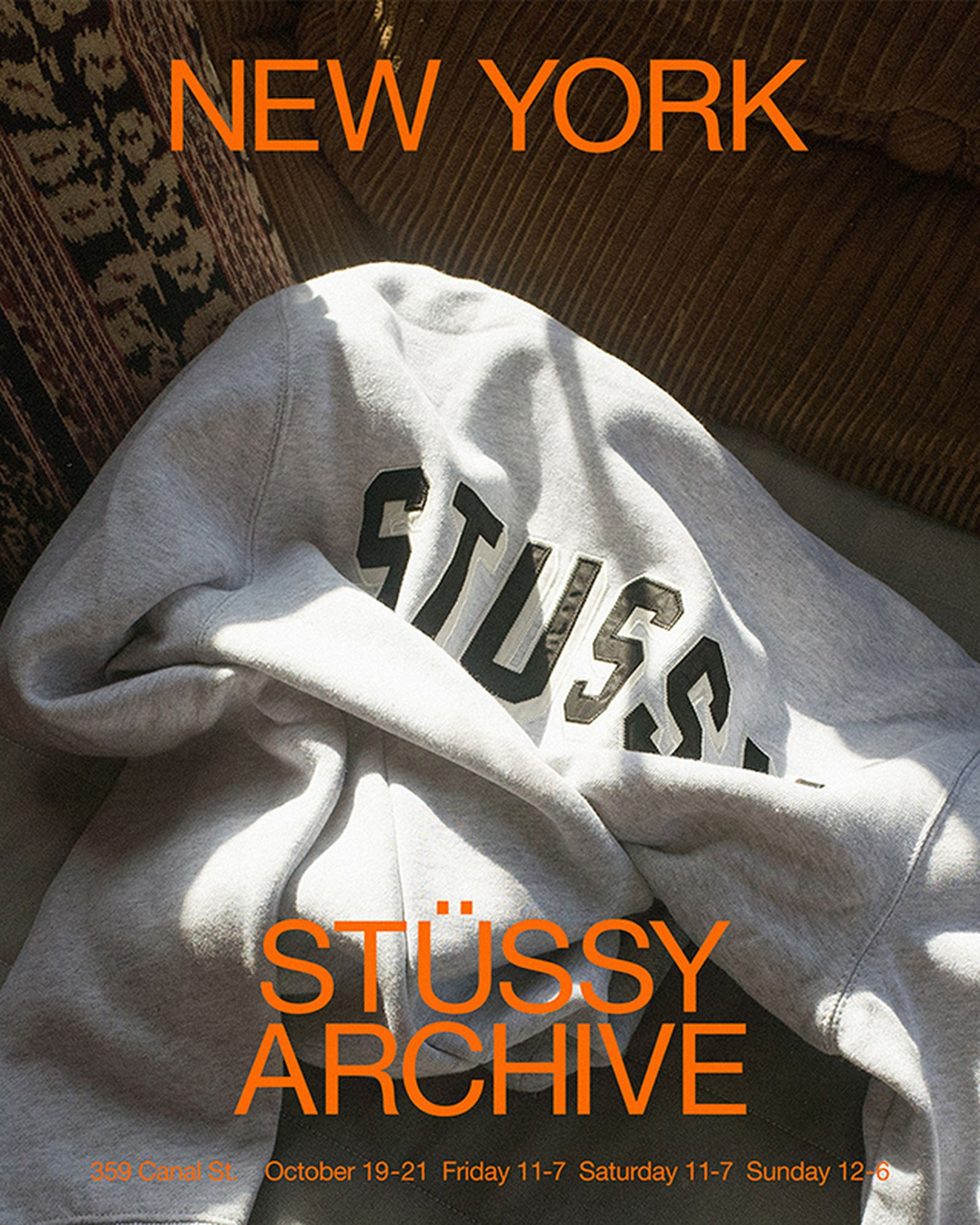 stussy pop up sale new york Stüssy