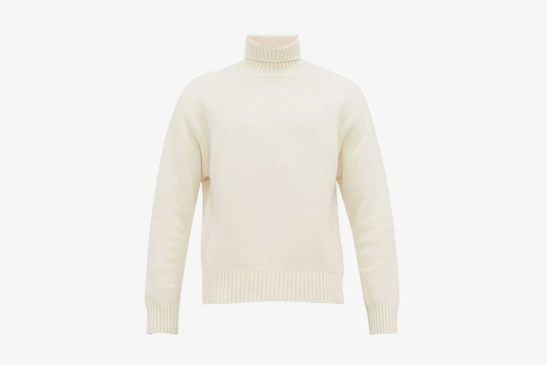 Mick High Neck Wool Sweater
