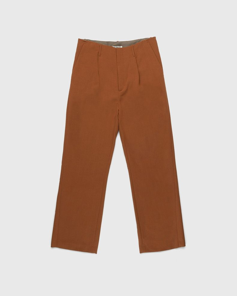 Auralee – Pants Dark Orange