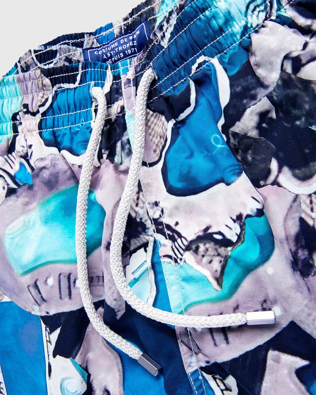 Vilebrequin x Highsnobiety — Pattern Shorts Blue - Image 4