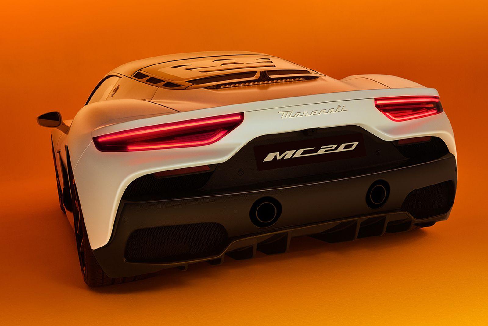 The all-new Maserati MC20 supercar.