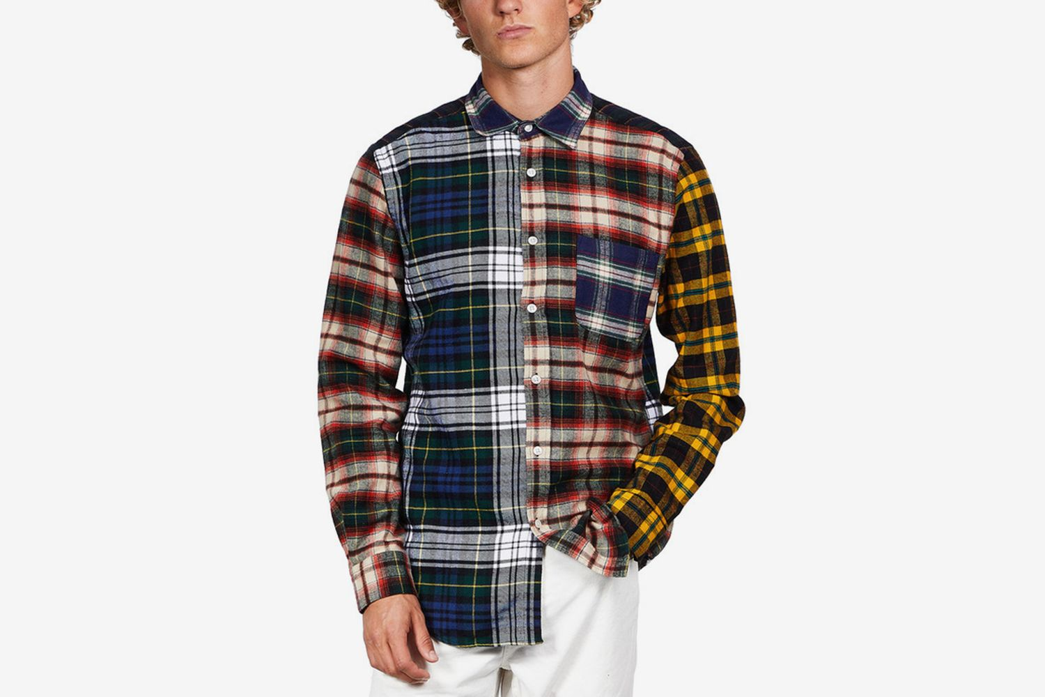 Flannel Patch Shirt