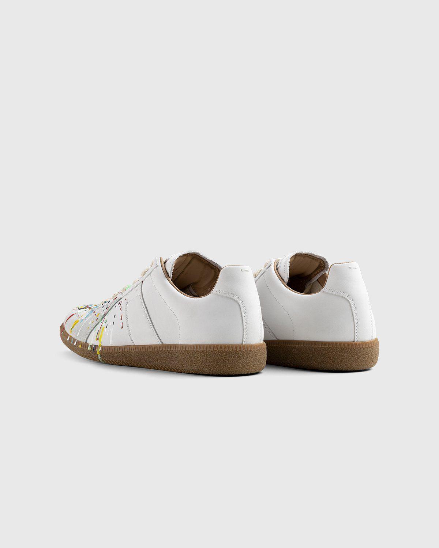 Maison Margiela – Replica Paint Drop Sneakers White - Image 3