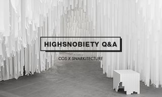 Highsnobiety Q&A | COS x Snarkitecture
