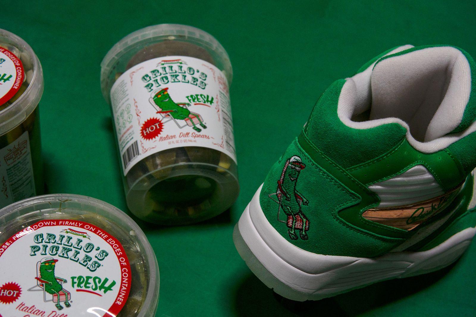 grillo's pickles Ewing ewing athletics