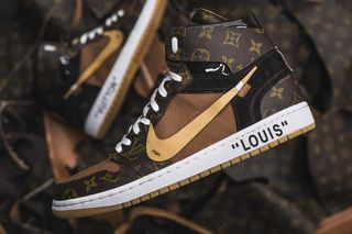 super popular 416a1 f8f88 These Louis Vuitton OFF–WHITE x Nike Air Jordan 1s Are Next Level