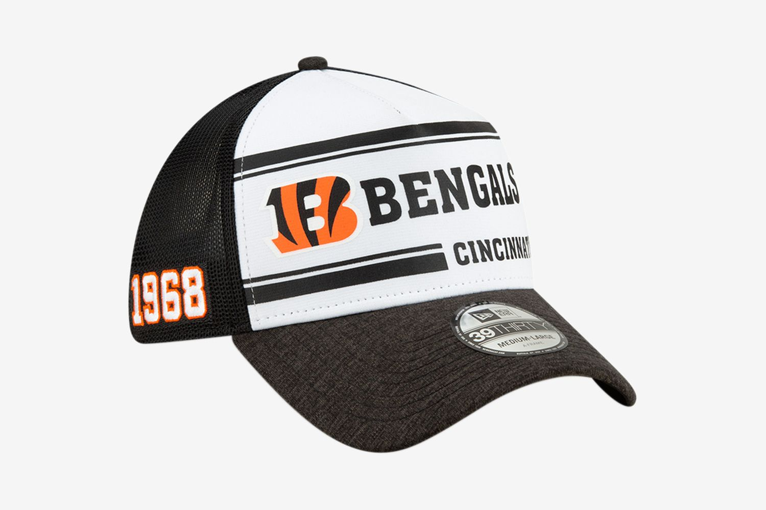 Cincinnati Bengals Home 39THIRTY Stretch Fit
