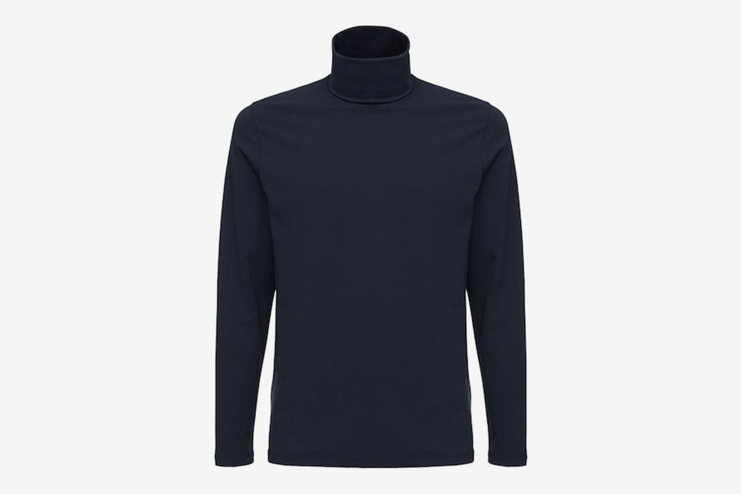 Cotton Turtleneck T-Shirt