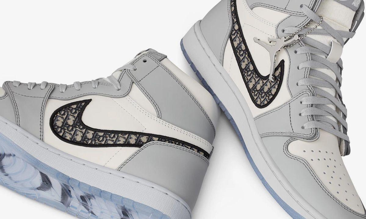 $3.6 Million in Fake Dior x Nike Air Jordan 1s Seized in Texas