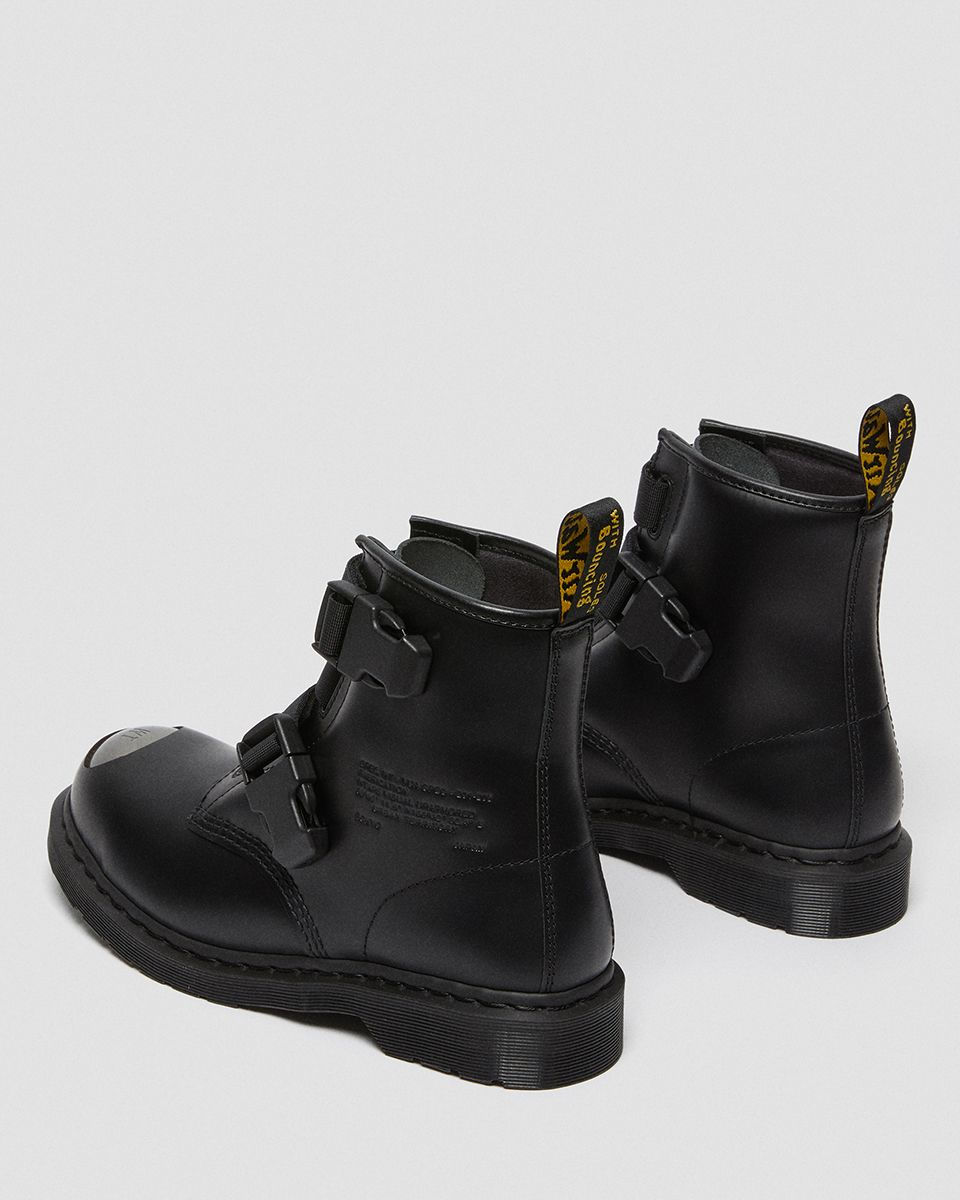 Buckle Up in WTAPS' Military-Inspired Dr. Martens 1460 Boot 13