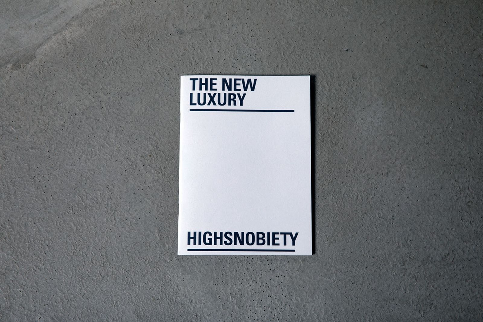 the new luxury whitepaper highsnobiety trends