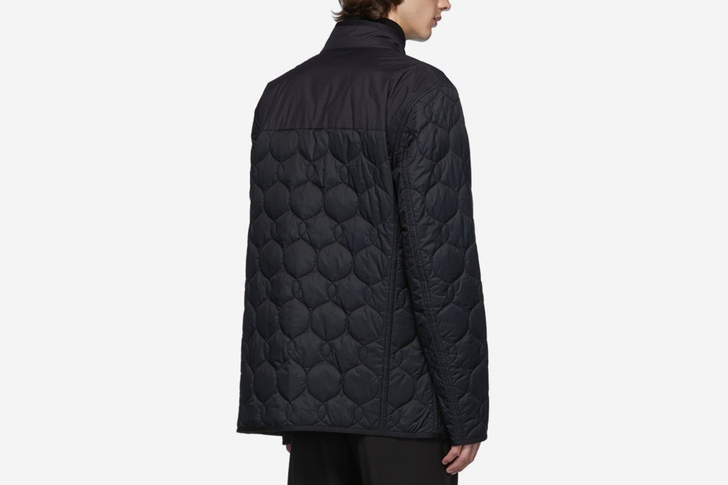 Reversible Black Quilted Jacket