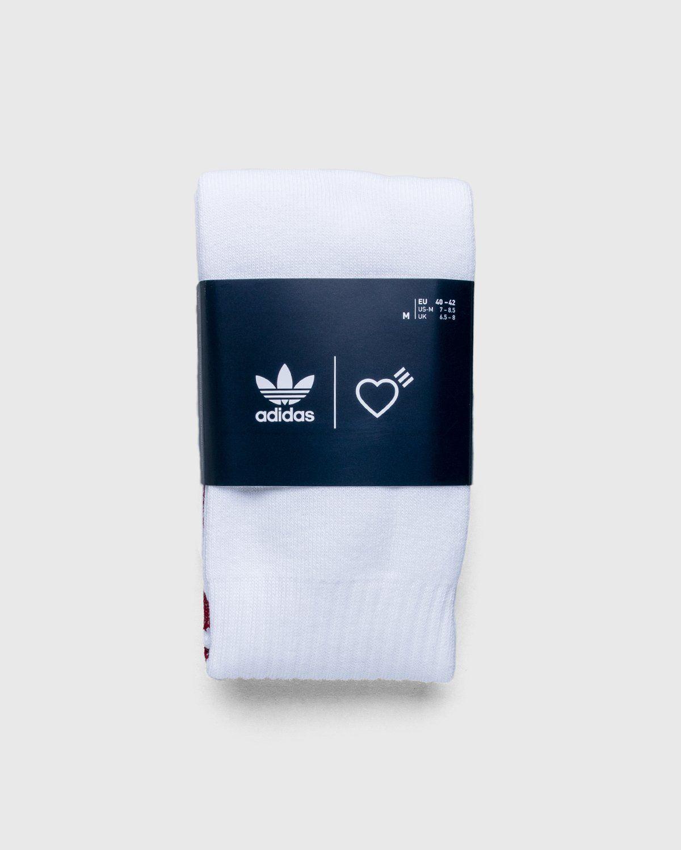 adidas Originals x Human Made — Socks White - Image 2