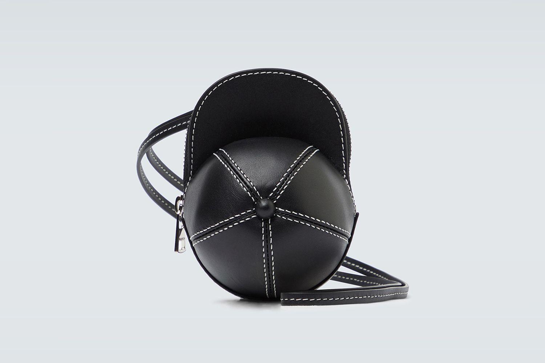 Leather Nano Cap Bag