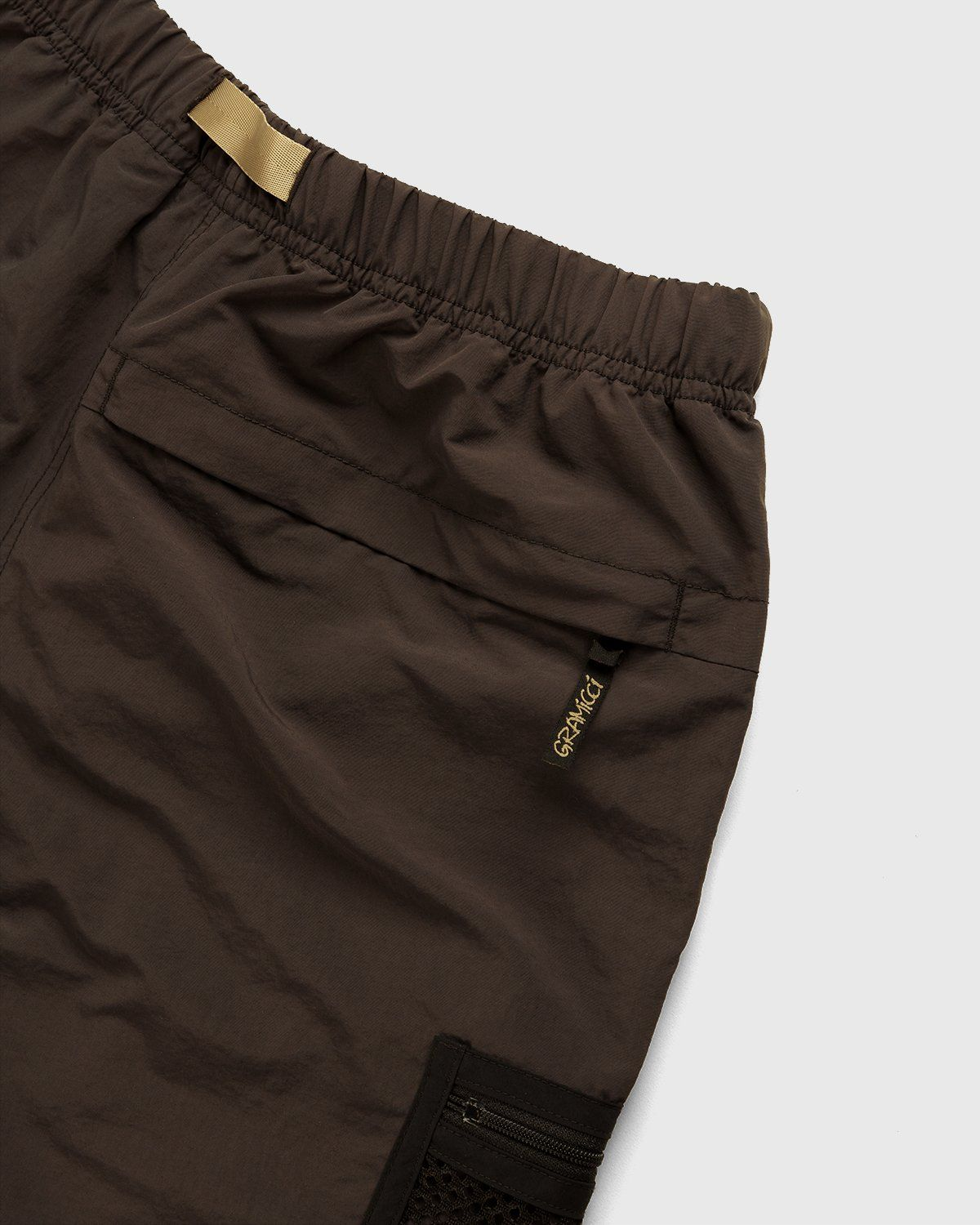 Gramicci for Highsnobiety – Shorts Brown - Image 6