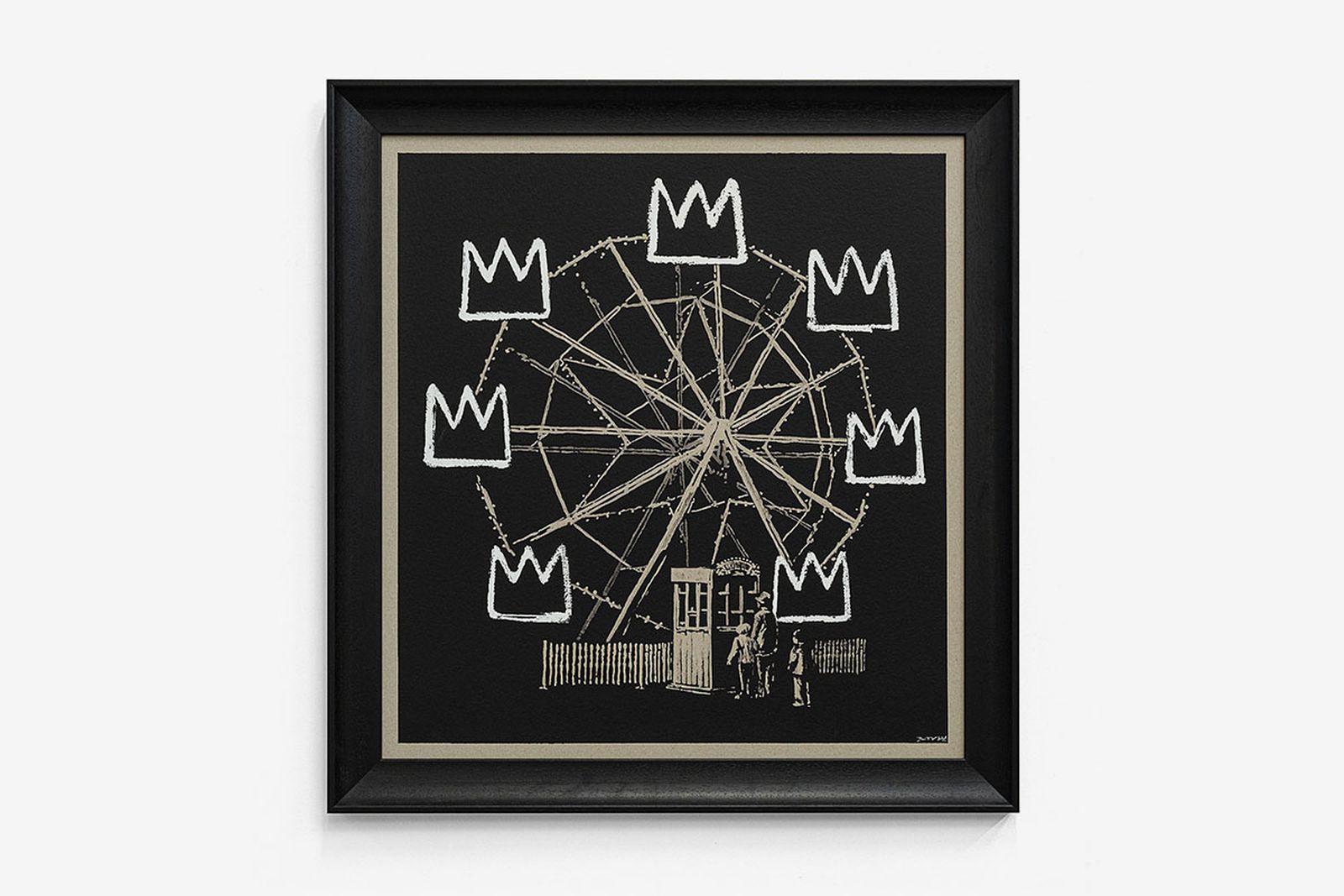 Banksy Gross Domestic Product Banksquiat