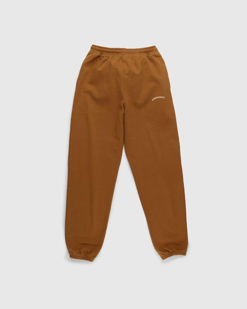Highsnobiety – Classic Logo Fleece Pants Acorn
