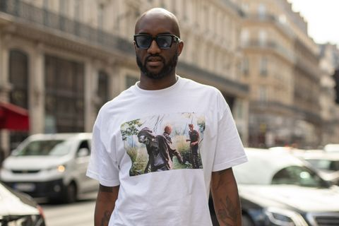Virgil Abloh white T-shirt sunglasses