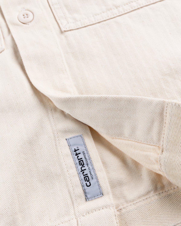 Carhartt WIP – Charter Shirt Natural - Image 6