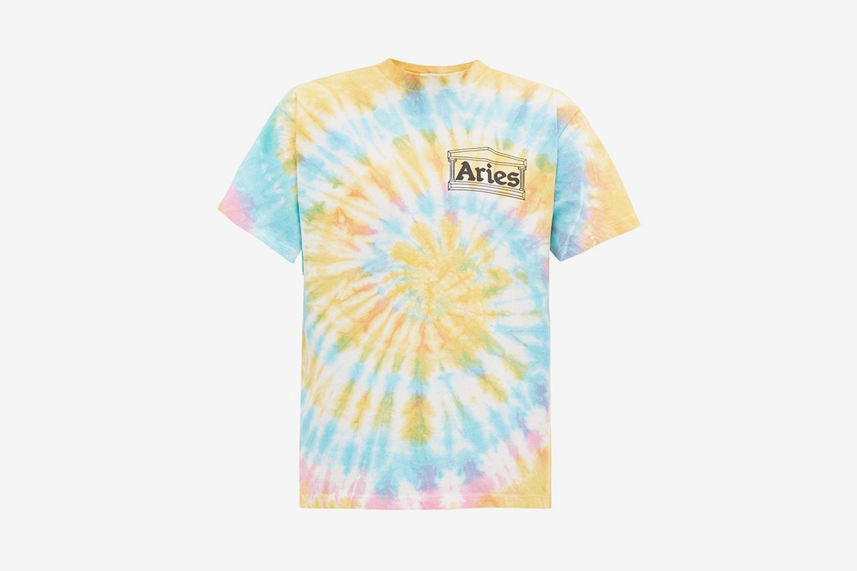 Temple Logo Tie-Dye T-Shirt