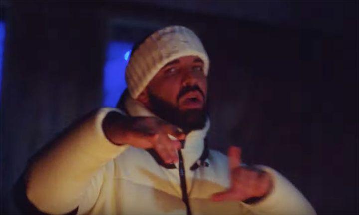 """still from Drake's """"war"""" video"""