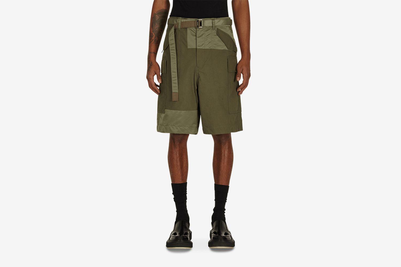 Oxford Cargo Shorts