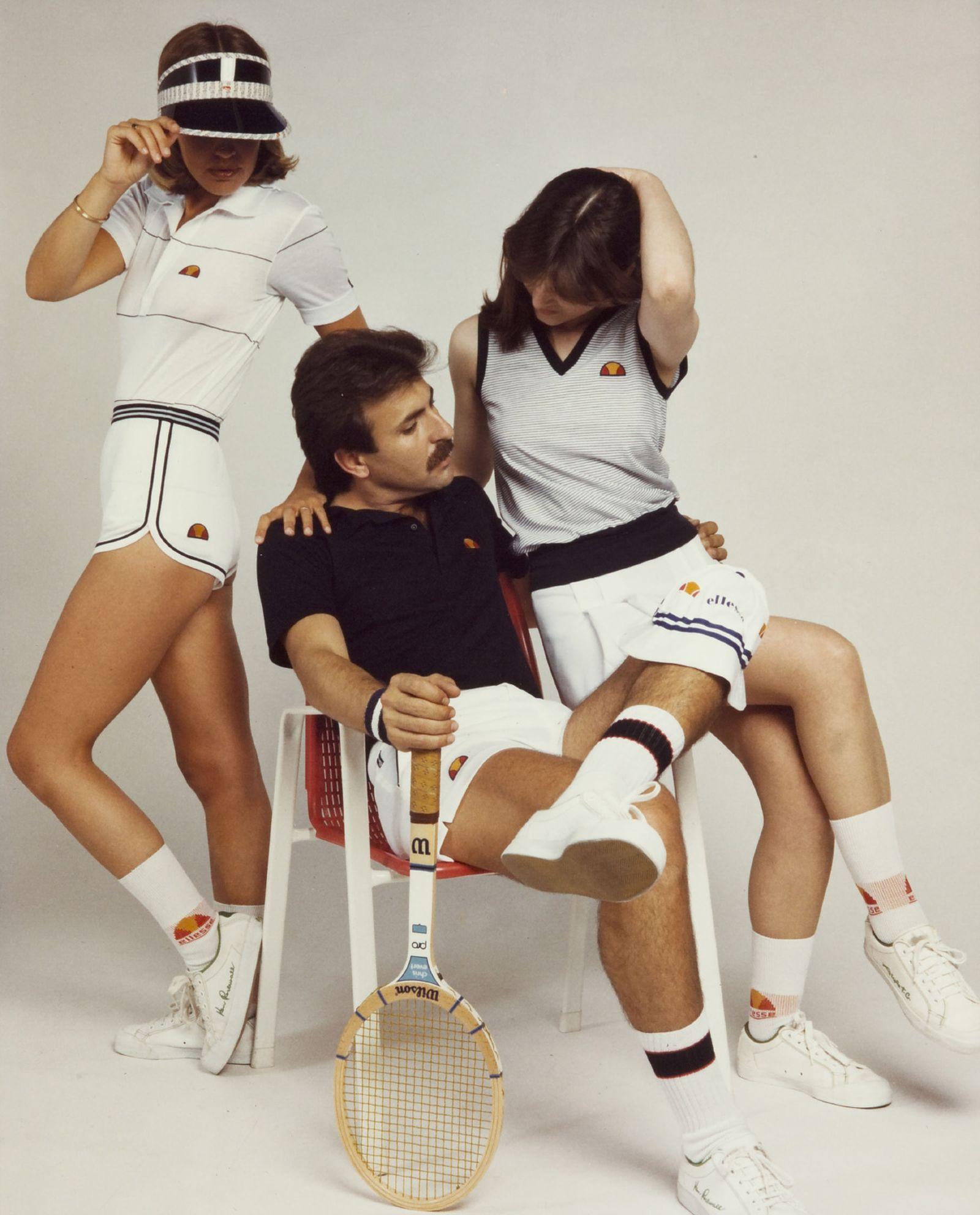 ellesse tennis history