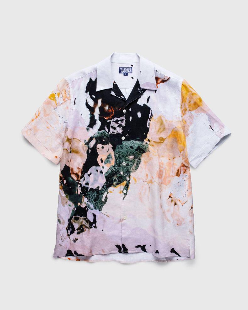 Vilebrequin x Highsnobiety — Pattern Shirt Beige