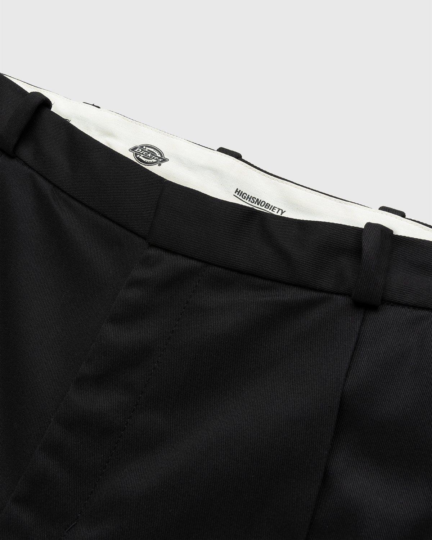 Highsnobiety x Dickies – Pleated Work Pants Black - Image 3