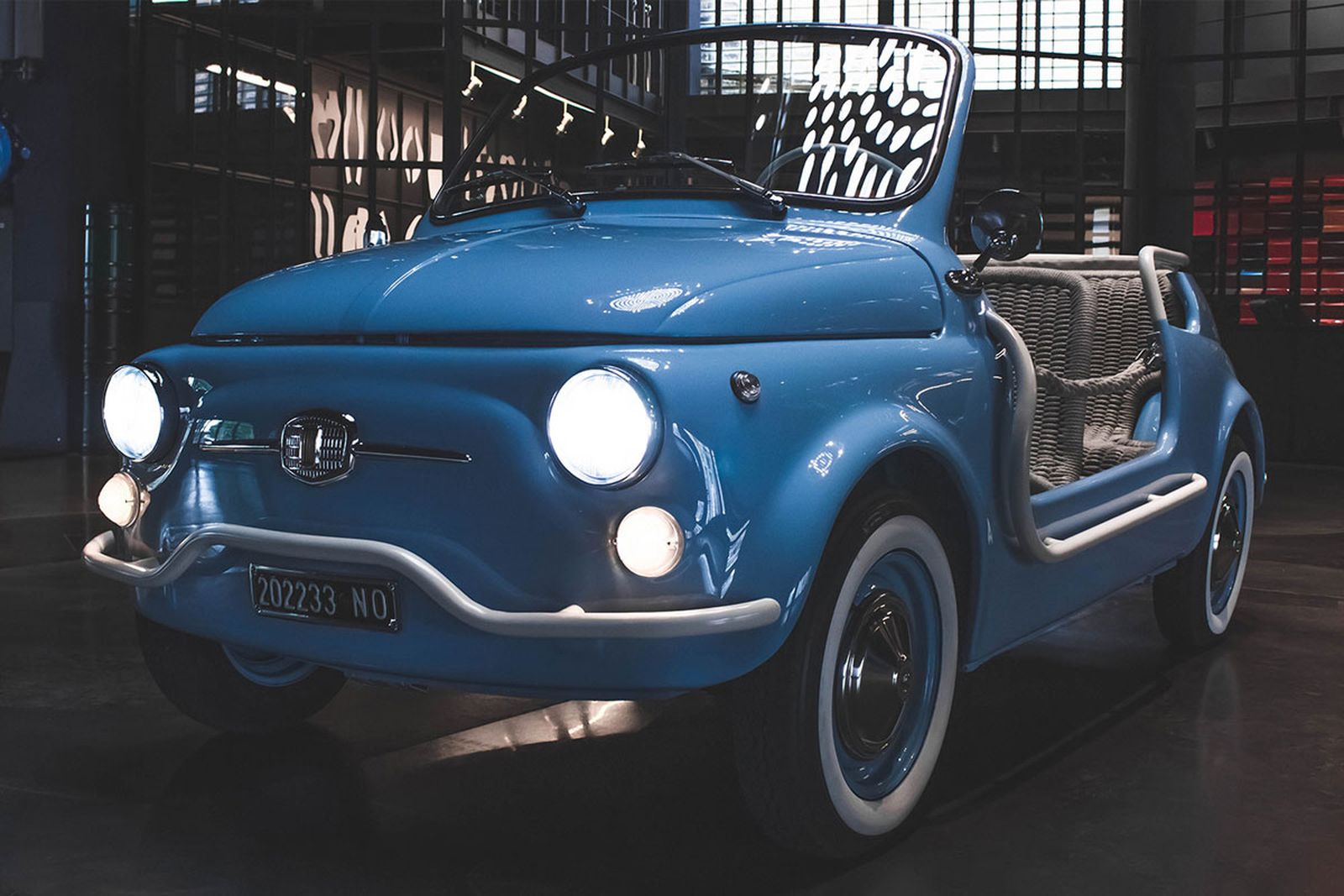 fiat 500 electric garage italia