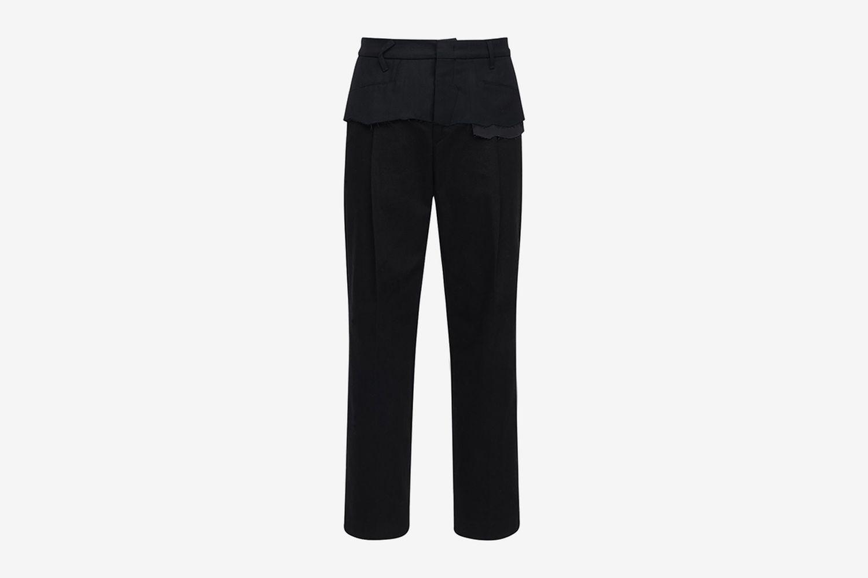 20cm Deconstructed Cotton Pants