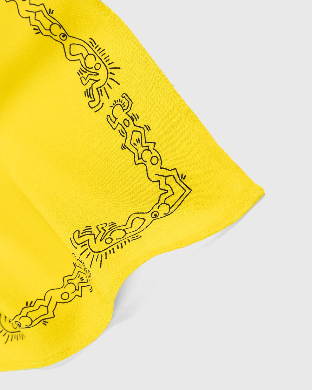 Highsnobiety x Keith Haring – Bandana Yellow - Image 4