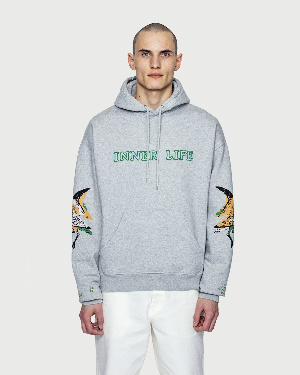 Inner Life by Highsnobiety - The Lovers Hoodie Grey - Image 2
