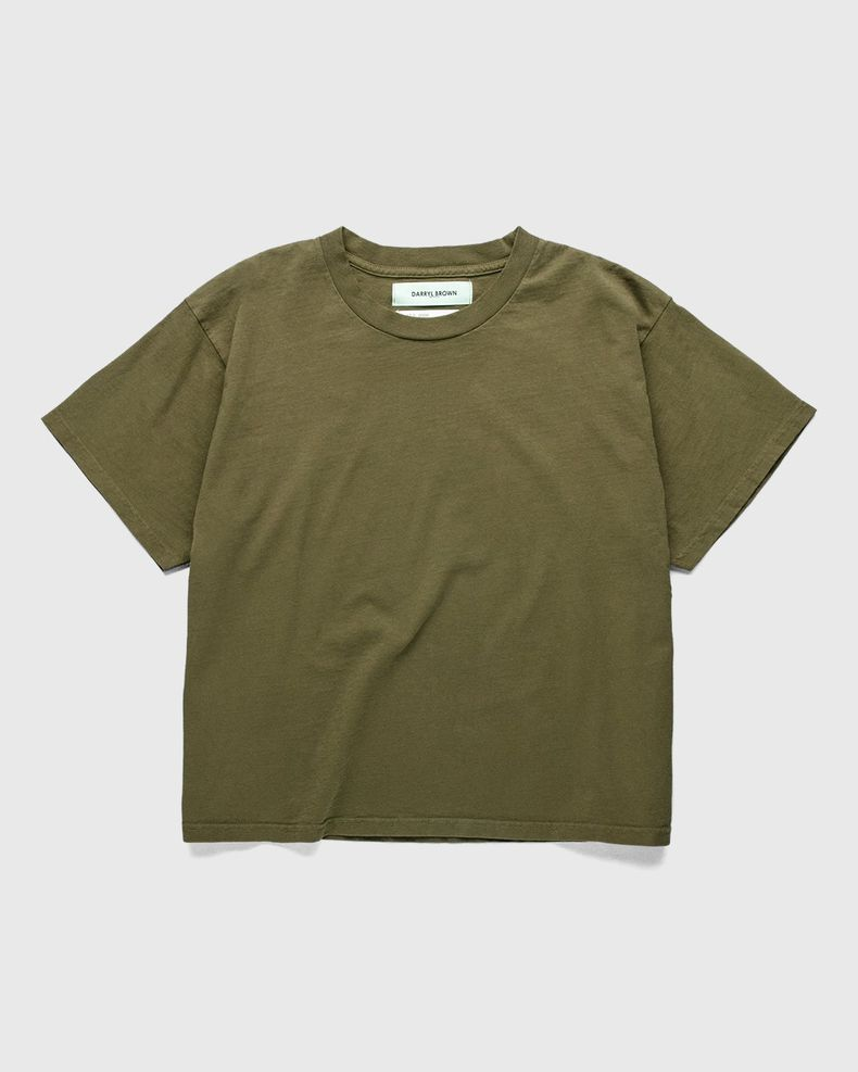 Darryl Brown — T-Shirt Military Olive