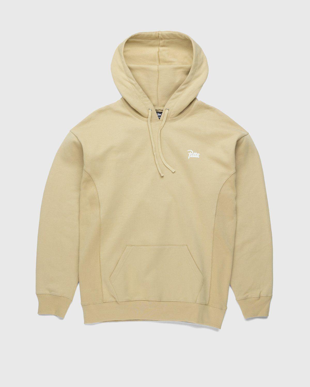 PATTA – Basic Hooded Sweater Khaki - Image 1