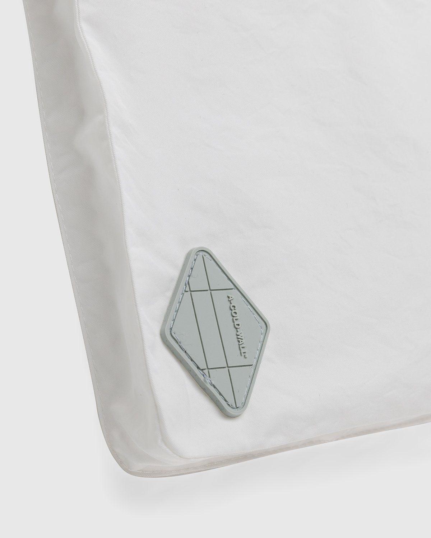 A-COLD-WALL* – Cuban Collar Shirt White - Image 4