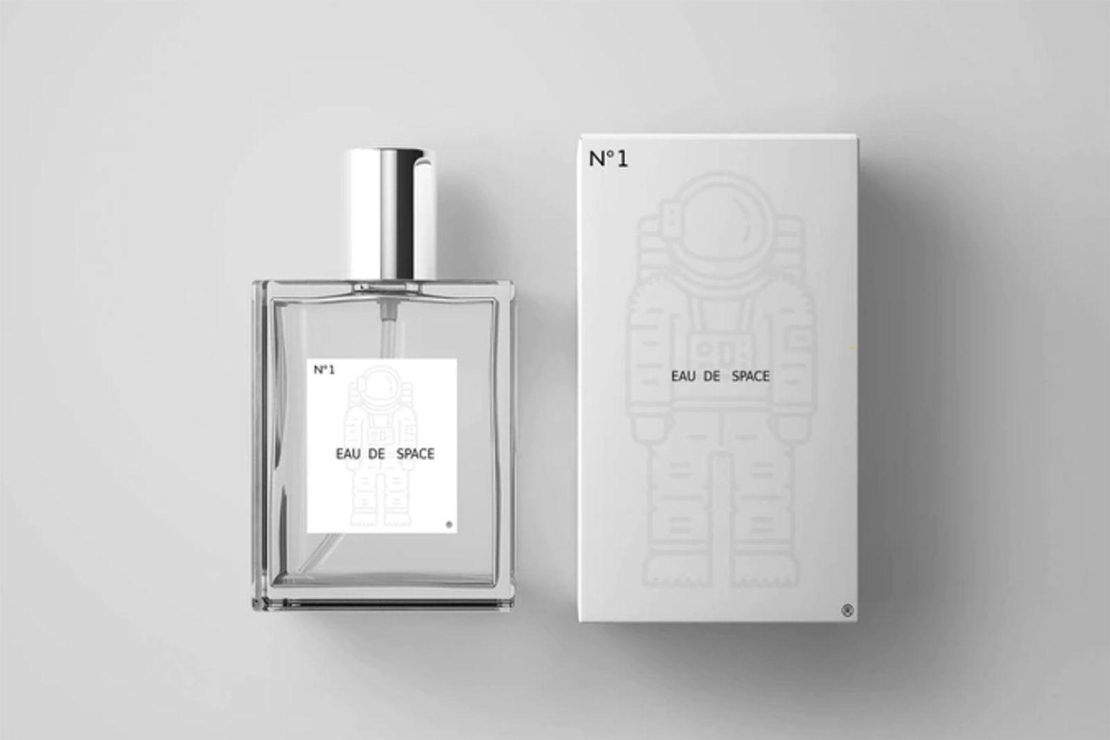 Eau de Space NASA space fragrance