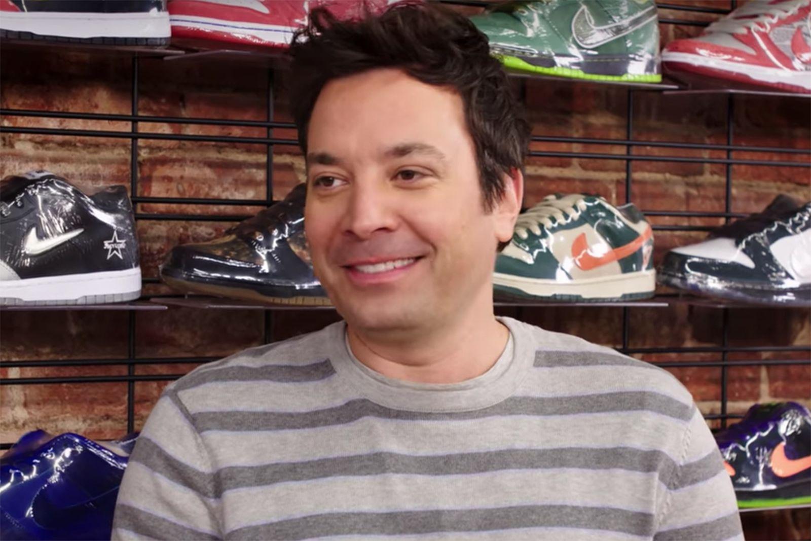 Jimmy Fallon Sneaker Shopping