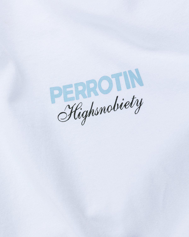 Highsnobiety — Not In Paris 3 x Galerie Perrotin T-Shirt White - Image 3