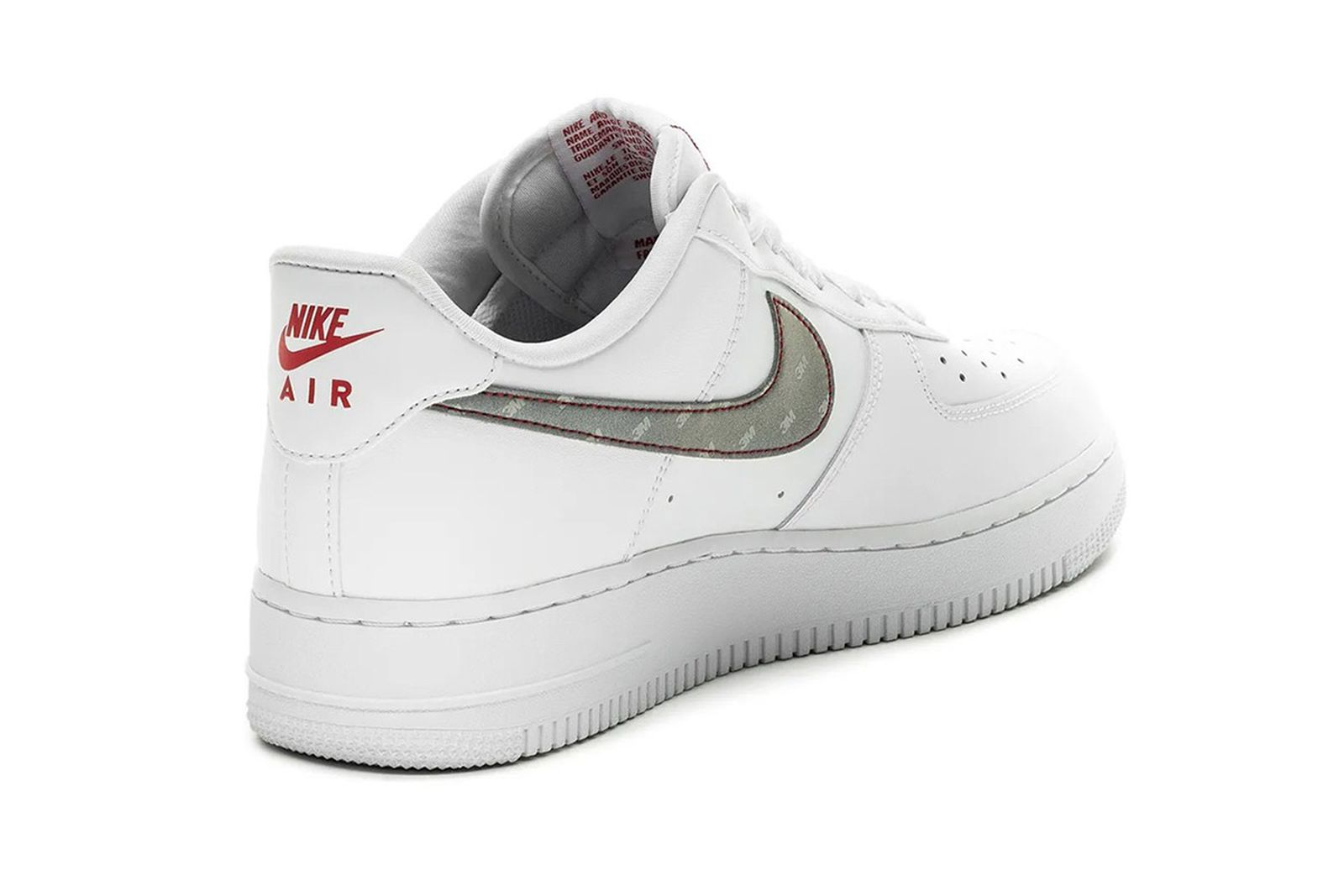 Nike x 3M Silver Air Force 1: Release, Date, Price Info